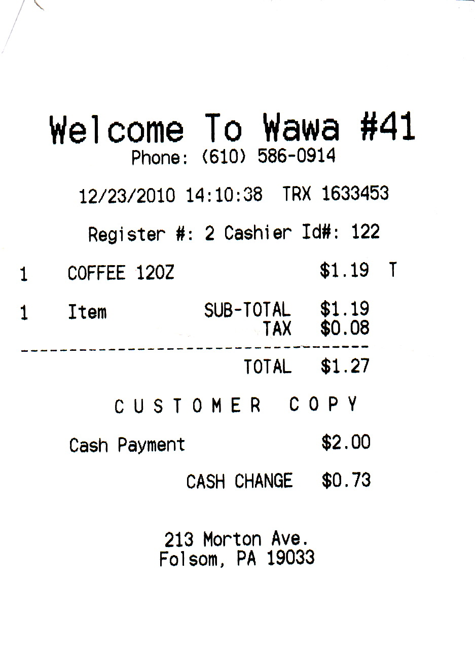 50 in 30 - The Wawa Challenge: December 2010