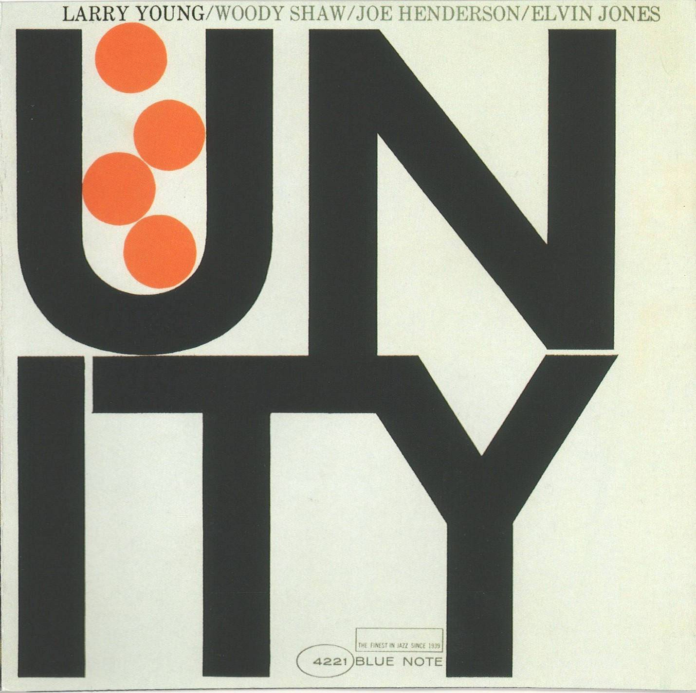 larry young - unity (sleeve art)