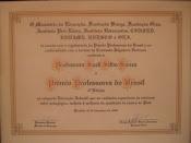 Certificado Prêmio Professores do Brasil - 3ª Edição