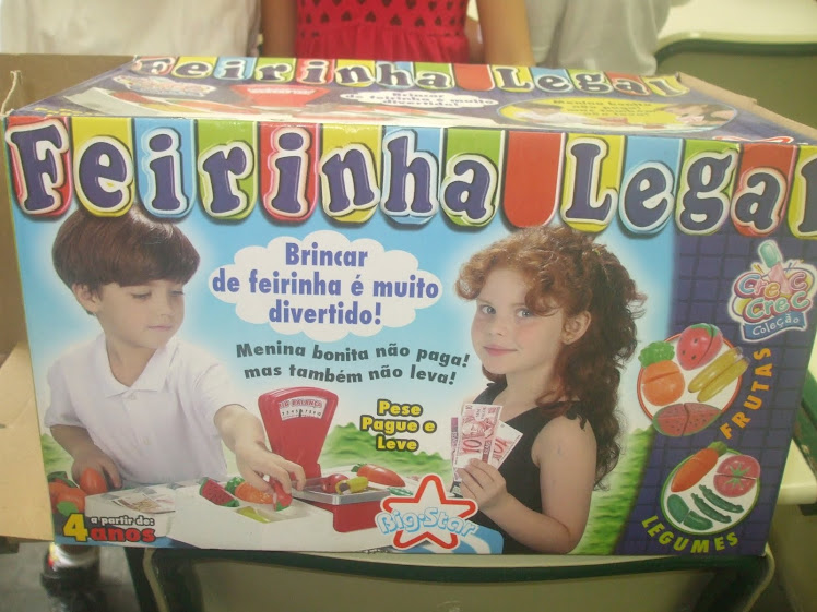 Feirinha Legal - material pedagógico utilizado no Projeto Viva-Verde