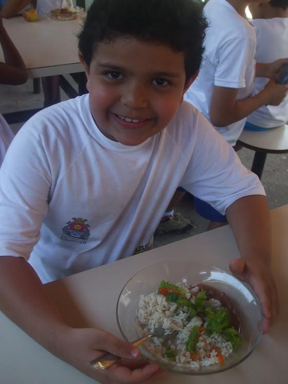 Degustação da salada 19-11-2010