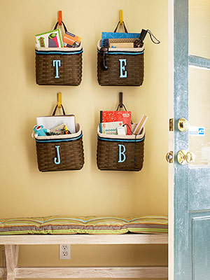 Ginnie's Gems: PERSONALIZED STORAGE BASKETS