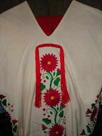 Huipil estilisado de San Juan Yalalag