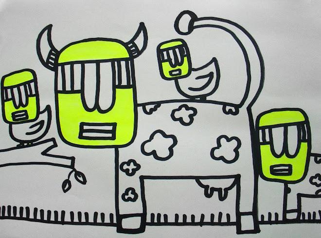 La vaca y el manón