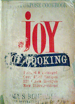 The Joy of Cooking (This is a 1963 copy of the book)