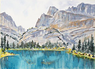 Charming Places To Paint: Charlene Brownu0027s Rockies