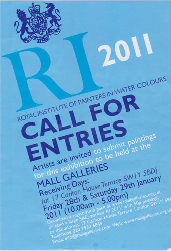 the Call for Entries post