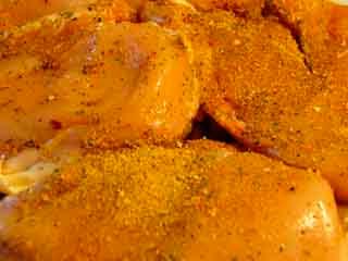 Rubbad Kyckling