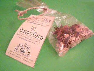 Souvenirpåse med kryddor