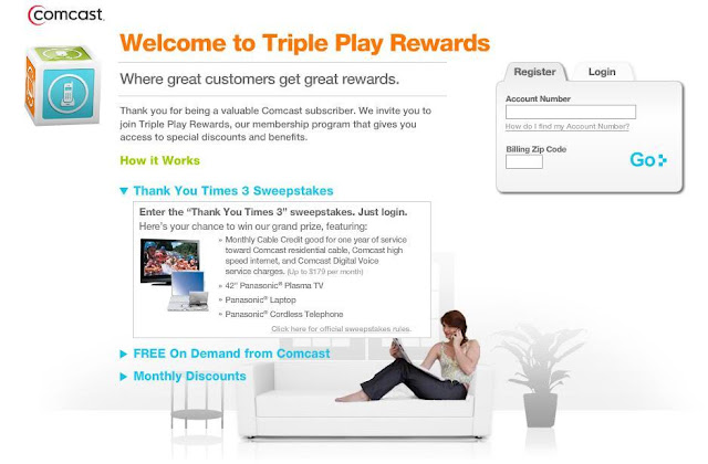 Comcast.com/rewards - Comcast Rewards