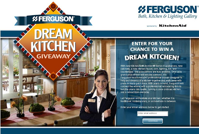 Www.Ferguson.com - Ferguson Dream Kitchen Giveaway