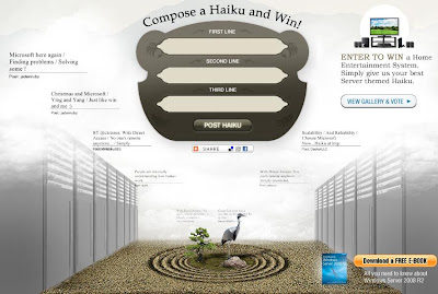 R2haiku.com - Microsoft Server Haiku Contest
