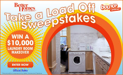 Www.bhg.com/bounce - BHG Take a Load Off Sweepstakes