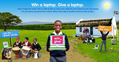 Winonegiveone.com - Win One, Give One Laptop Sweepstakes