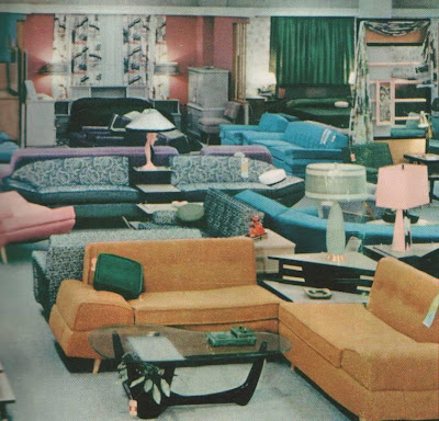 A set of interior views typical of larger Sears stores from the mid 1950 s   From the end of World War II up to that time  the company opened over 100  stores. Pleasant Family Shopping  A Mid 50 s Inside Look at Sears