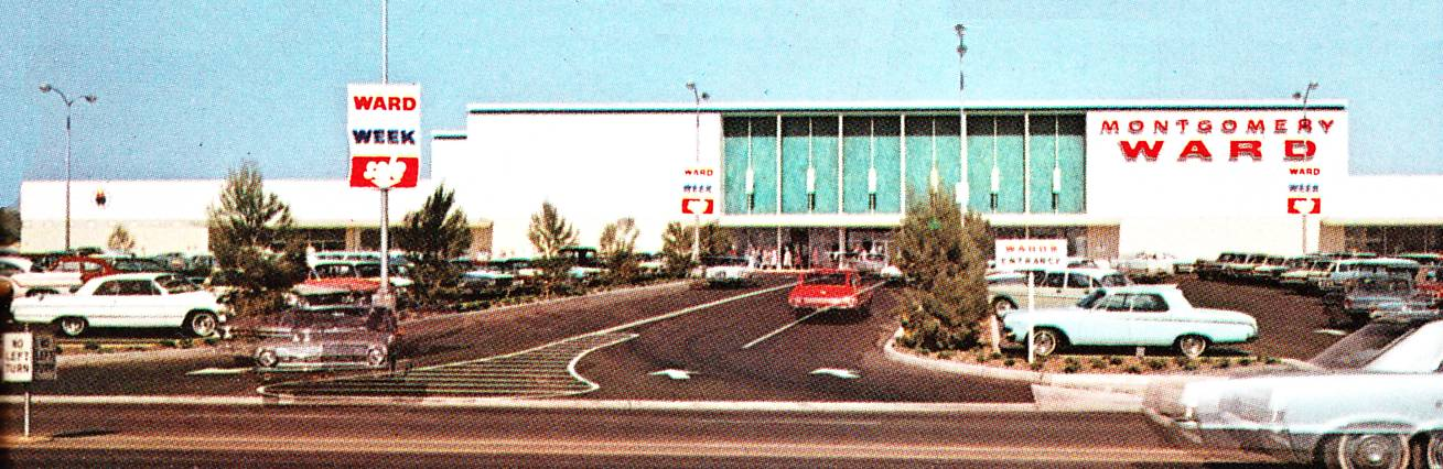 Pleasant Family Shopping Wards In Huntington Beach 1966