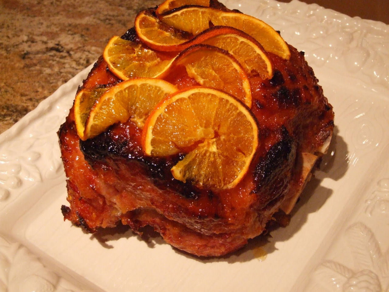 Cuisinez comme un chef jambon l 39 orange - France 2 cuisinez comme un chef ...