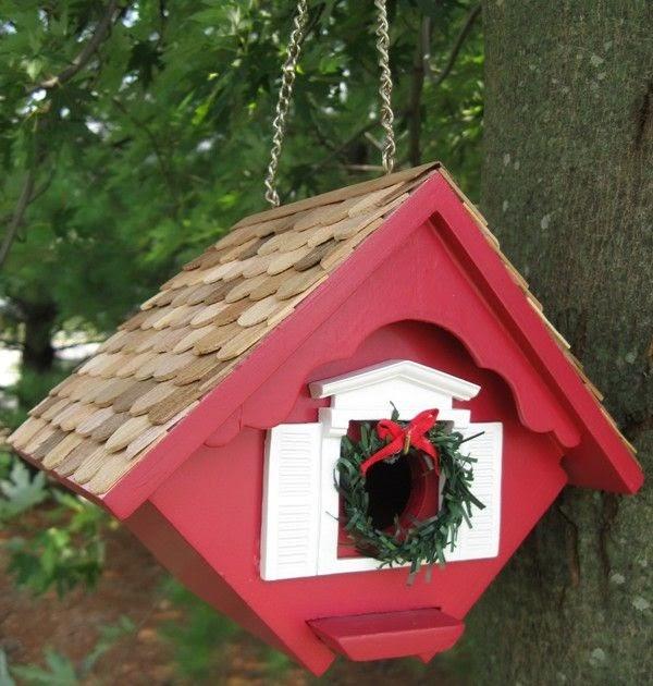 love thy space  christmas bird house
