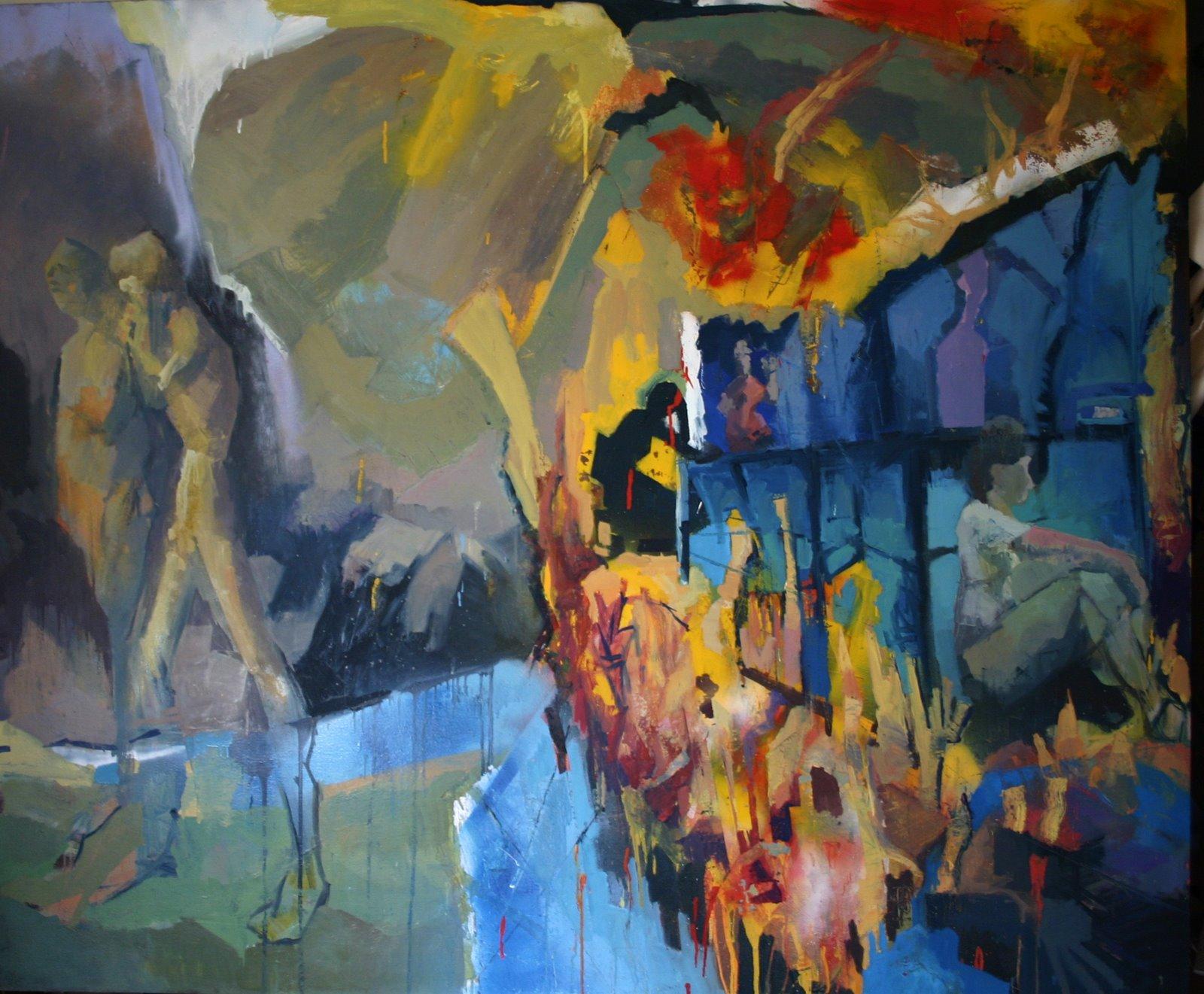 [Expulsion+2009+Oil+on+Canvas+60]