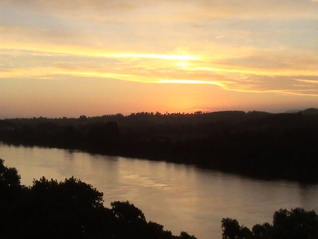 Rio Taquari - Pôr do Sol