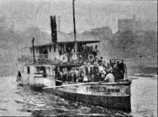 Rio Taquari - Navegação de antigamente