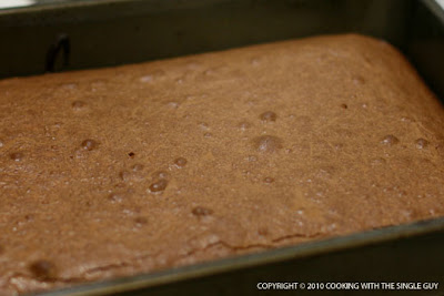 ... With The Single Guy: Test Kitchen: Espresso-Shortbread Brownie Bars