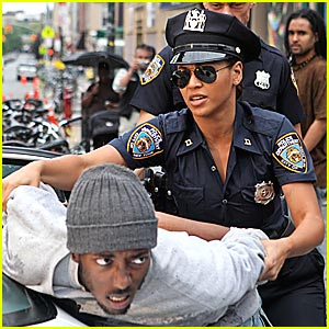 beyonce police officer