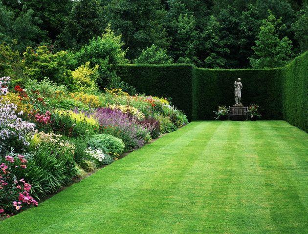 Paisajismo pueblos y jardines jardines arts and crafts for Setos para jardin