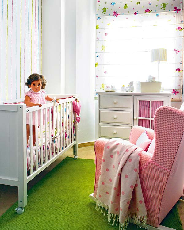 The boo and the boy green on the floor in kids 39 rooms for Kids room flooring