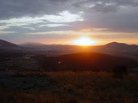Cabeza Reina, puesta de sol - Alfonsoyamigos