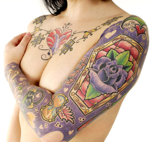 female rib tattoos. Sexy Tattoos For Women - Rib