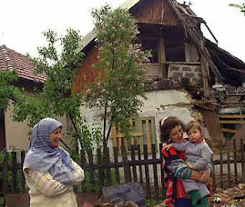 Destruição na Bósnia
