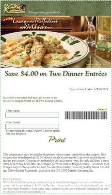 for Olive garden com join