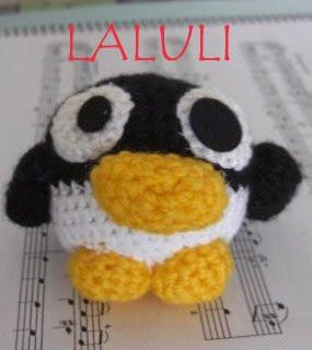 FOTOS DE AMIGURUMIS DE LALULI Pingu