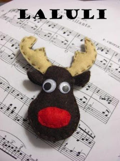FOTOS DE FIELTRO DE LALULI Rudolf