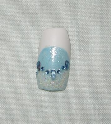 sharihearts: Cinderella - Disney Nail Art Series