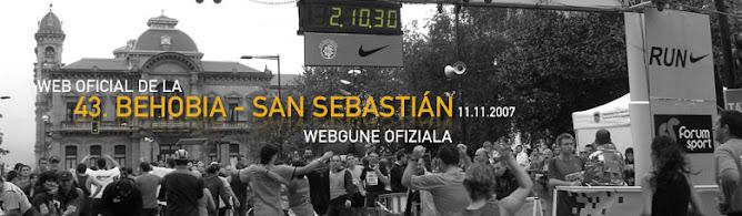 Behobia-San Sebastian 2007