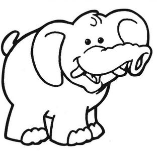 dibujos de elefantes expression