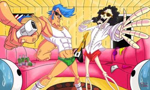 Franky and Brook on the pose