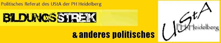 Politisches Referat / Bildungsstreik