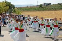 baile tradicional en el campo