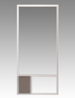 Pet Door Design Conversion Panel Features Many Double Pane Safety Glass And Pet  Door Options.