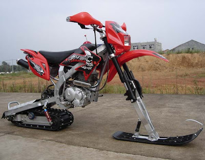 snow runner motorcycle
