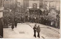 Tournage du film - Sans Lendemain - en 1939 avec Edwige Feuillière