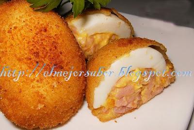 Huevos Rebozados