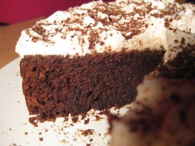 Postre Esponjoso de Chocolate