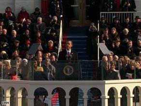 Barrack Obama Inauguration Speech