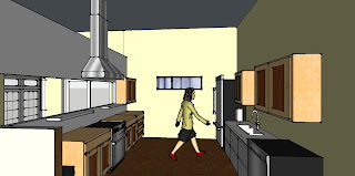 kitchen space,cabinets