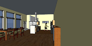 rendering kitchen