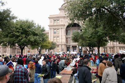 crowd capitol 3 A day at the Texas March for Life